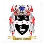 Hemmingway Square Car Magnet 3