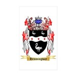 Hemmingway Sticker (Rectangle 50 pk)