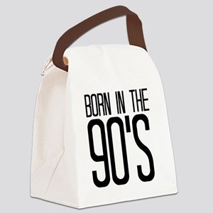 born in the 90's Canvas Lunch Bag