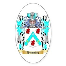 Hemming Sticker (Oval)