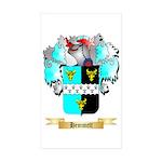 Hemmett Sticker (Rectangle 50 pk)