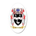 Heminway 35x21 Oval Wall Decal