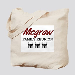 Mcgraw Family Reunion Tote Bag