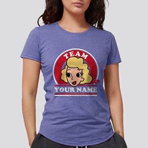 Personalized Team Ethel Womens Tri-blend T-Shirt