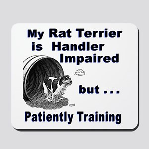 Rat Terrier Agility Mousepad