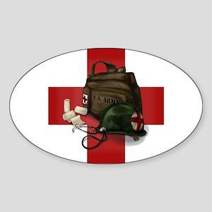 Army Cross Sticker