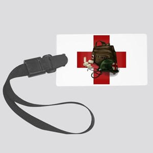 Army Cross Large Luggage Tag