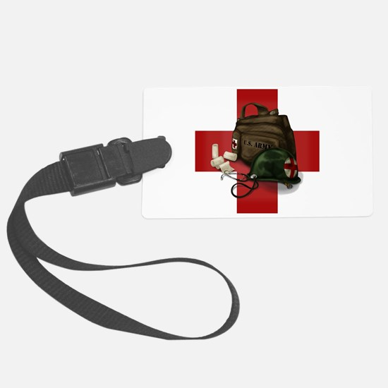 Army Cross Luggage Tag