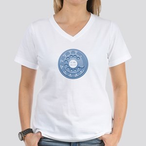 Rotary Faux Women's V-Neck T-Shirt