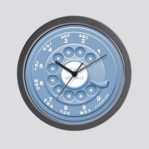 Rotary Faux Wall Clock