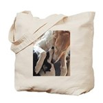 Borzoi Puppy Love Tote Bag
