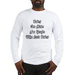 Rules Long Sleeve T-Shirt