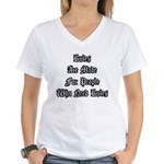 Rules Women's V-Neck T-Shirt