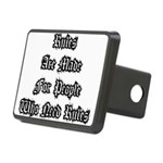 Rules Rectangular Hitch Cover
