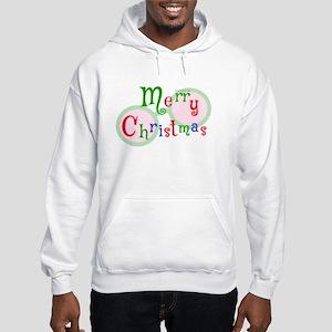 2 Merry Christmas Men's Hooded Sweatshirt