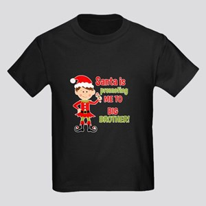 Santa Big Brother Baby Announcement T-Shirt
