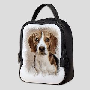 Beagle Hound Neoprene Lunch Bag