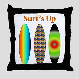 surfsup Throw Pillow