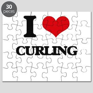 I Love Curling Puzzle