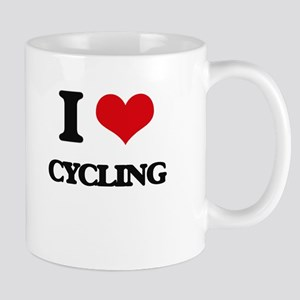 I Love Cycling Mugs
