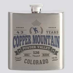 Copper Mtn Vintage Flask