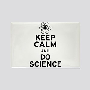 Keep Calm Do Science Rectangle Magnet