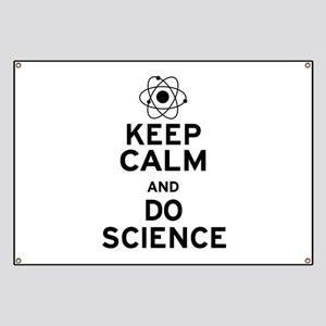Keep Calm Do Science Banner