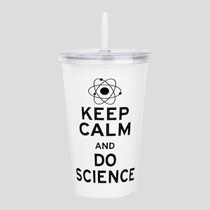 Keep Calm Do Science Acrylic Double-wall Tumbler