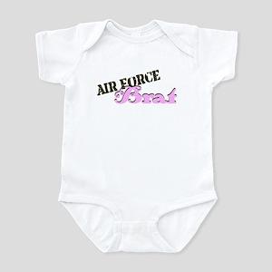 AF Brat pink/brown Infant Bodysuit