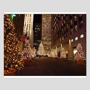 Nyc Christmas Small Poster