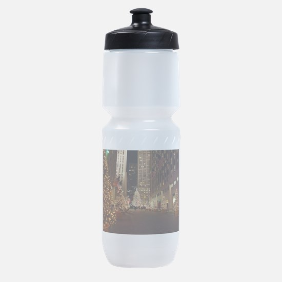 Nyc Christmas Sports Bottle