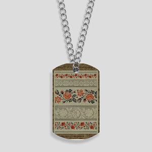Ukrainian Embroidery Dog Tags