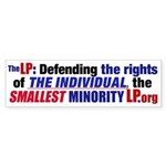 Defending Rights Bumper Sticker
