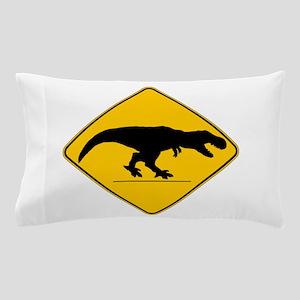 T Rex Crossing Pillow Case