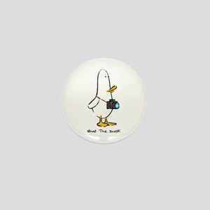 What the Duck: 1 of 4 Charact Mini Button