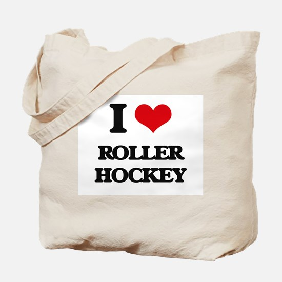 I Love Roller Hockey Tote Bag
