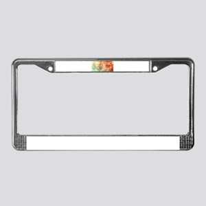 Financial Planning License Plate Frame
