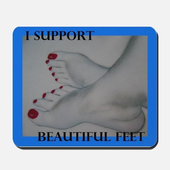 Support Feet Mousepad