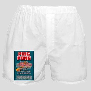 BALLSOFFURY PING-PONG Boxer Shorts