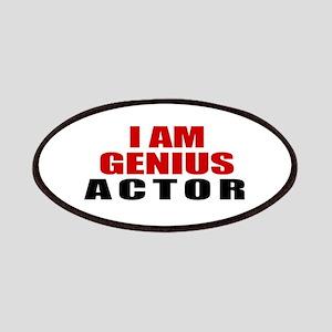 I Am Genius Actor Patch