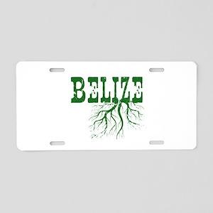 Belize Roots Aluminum License Plate