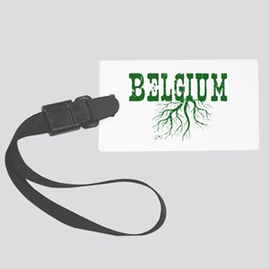 Belgium Roots Large Luggage Tag