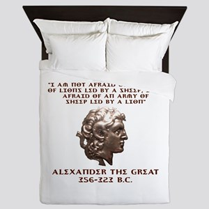 Alexander the Great Queen Duvet