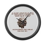 Alexander the Great Large Wall Clock