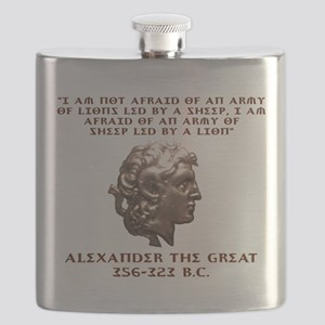 Alexander the Great Flask
