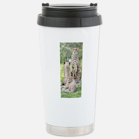 Cheetah002 Stainless Steel Travel Mug