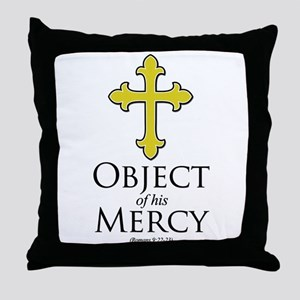 Object of His Mercy Romans 9 Throw Pillow
