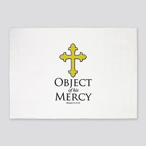 Object of His Mercy Romans 9 5'x7'Area Rug