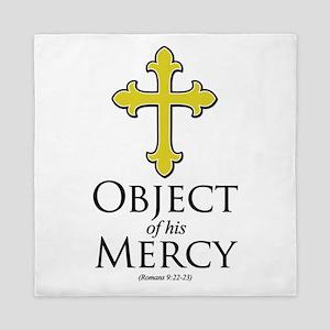 Object of His Mercy Romans 9 Queen Duvet