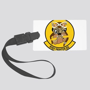 61st_fighter_sq Large Luggage Tag